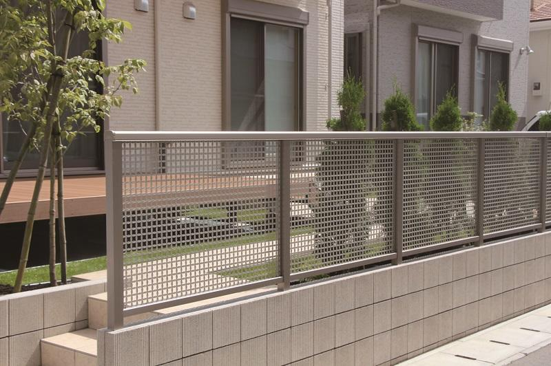 Exterior Exterior Housing Punching Fence