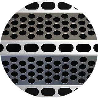 Perforated bent plate