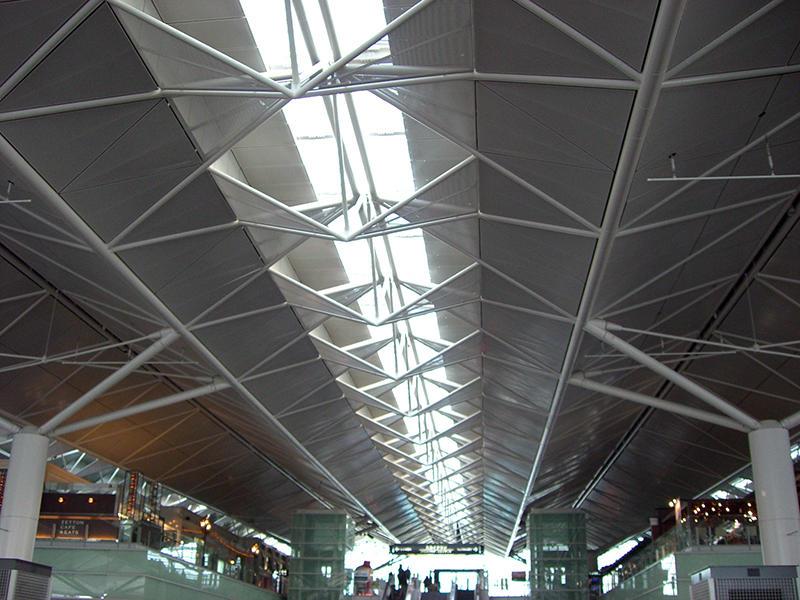 三角形天井パネル