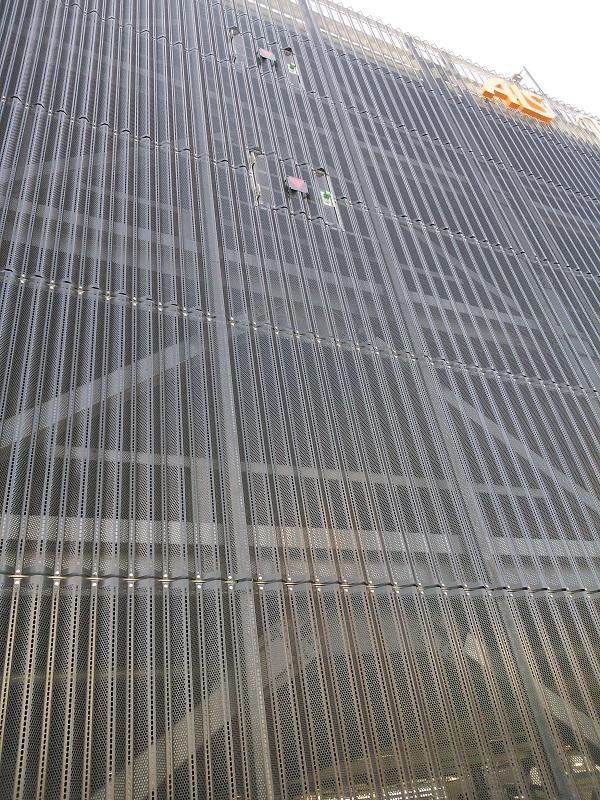 有孔折板(目隠し、日射抑制、防風雪)