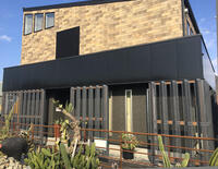 株式会社ダイエイハウスモデルハウス有孔折板