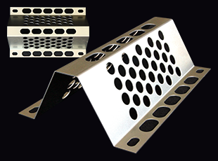 Perforated bent plate W=200type