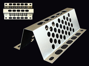 Perforated bent plate W=175type